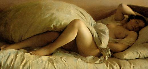 sleepingwoman