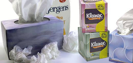 Jergen's & Kleenex